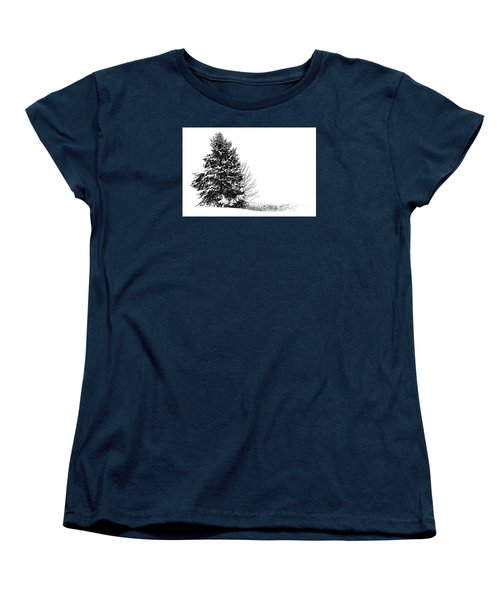 The Lone Pine Women's T-Shirt (Standard Cut)