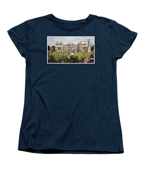 The Luxembourg Palace Women's T-Shirt (Standard Cut) by Kai Saarto