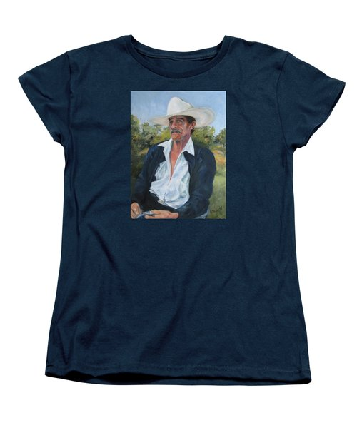 The Man From The Valley Women's T-Shirt (Standard Cut) by Connie Schaertl