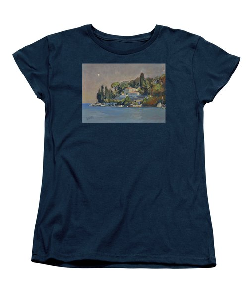 The Mansion House Paxos Women's T-Shirt (Standard Cut) by Nop Briex