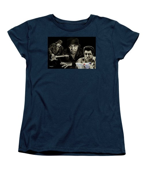 The Many Faces Of Lil Steven Women's T-Shirt (Standard Cut)
