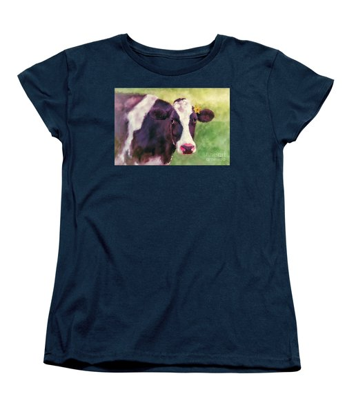 Women's T-Shirt (Standard Cut) featuring the photograph The Milk Maid by Lois Bryan