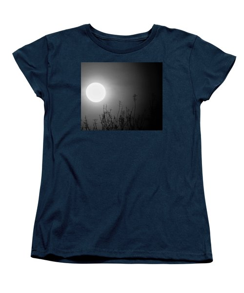 The Moon And The Stars Women's T-Shirt (Standard Cut) by John Glass