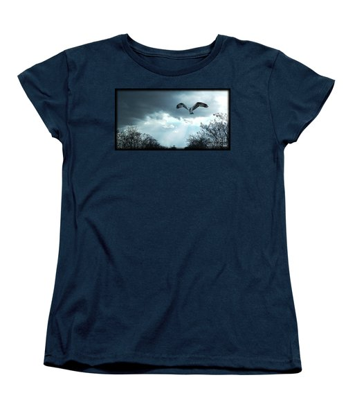 The Hawk Women's T-Shirt (Standard Cut) by Zedi