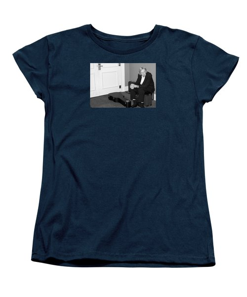 The Musician Women's T-Shirt (Standard Cut) by Bob Pardue