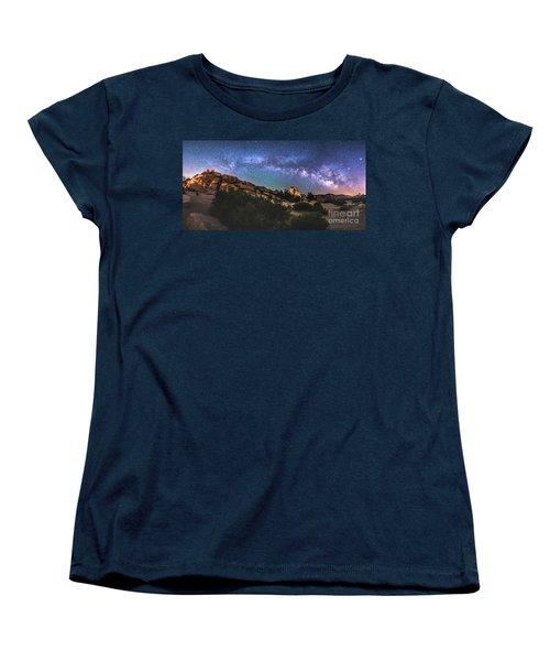 The Mystic Valley Women's T-Shirt (Standard Cut) by Robert Loe