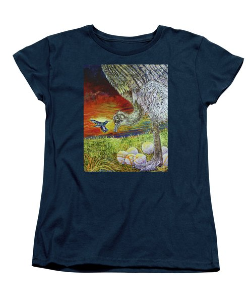 The Nanny Women's T-Shirt (Standard Cut) by David Joyner