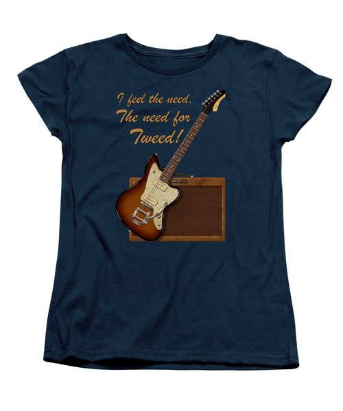 The Need For Tweed T Shirt Women's T-Shirt (Standard Cut) by WB Johnston