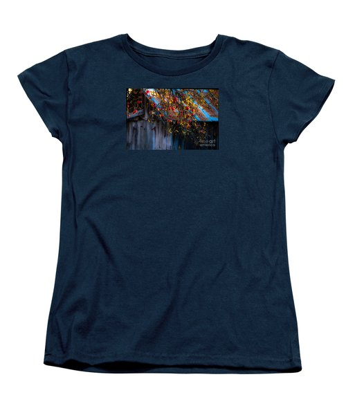 The Old Barn Women's T-Shirt (Standard Cut) by Sherman Perry