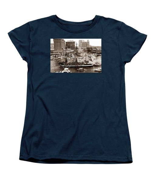 The Old Crew Of Gaspar Women's T-Shirt (Standard Cut) by David Lee Thompson