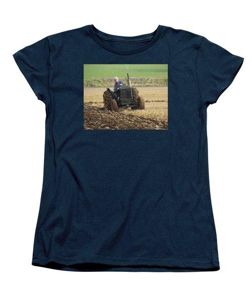 The Old Ploughman Women's T-Shirt (Standard Cut) by Roy McPeak