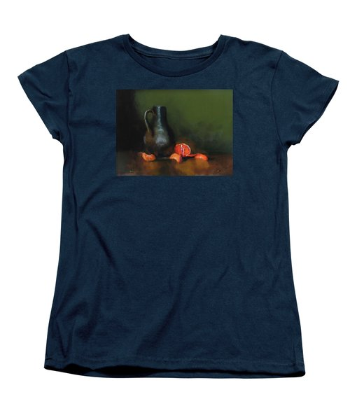 The Old Stoneware Mug Women's T-Shirt (Standard Cut) by Barry Williamson