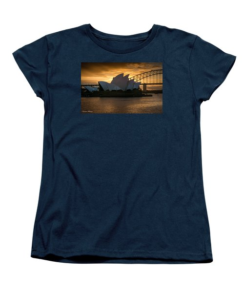Women's T-Shirt (Standard Cut) featuring the photograph The Opera House by Andrew Matwijec