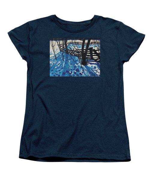 The Paddock Women's T-Shirt (Standard Cut) by Phil Chadwick