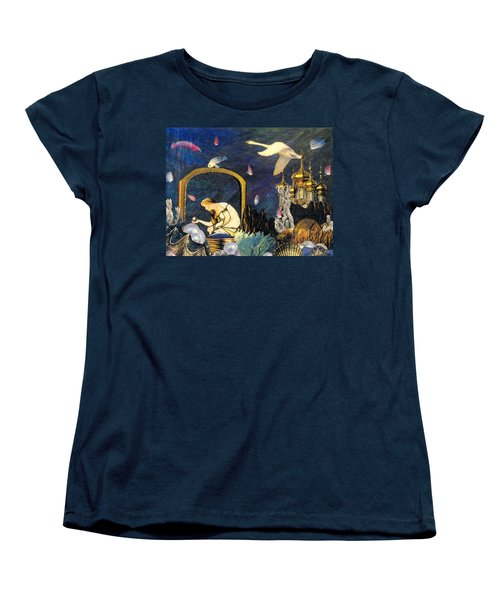 The Pearl Of Great Price Women's T-Shirt (Standard Cut) by Gail Kirtz