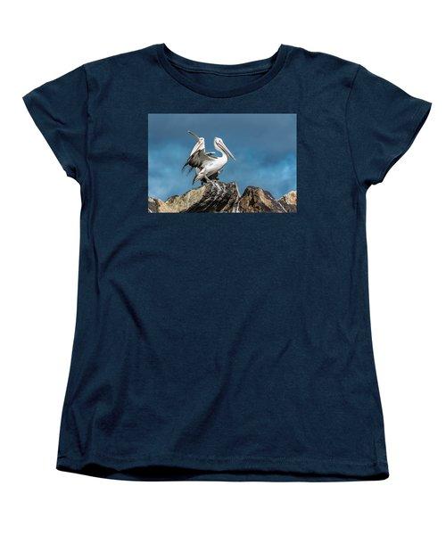 The Pelicans Women's T-Shirt (Standard Cut) by Racheal Christian