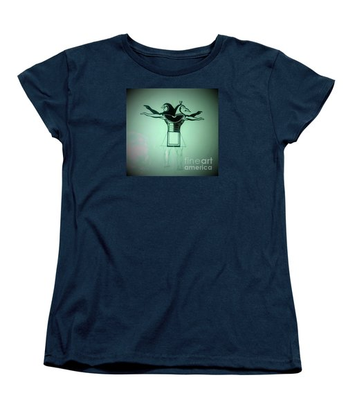 The Perfect Circling Of Your Square Women's T-Shirt (Standard Cut) by Talisa Hartley