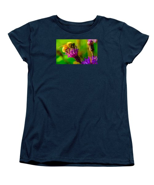 Women's T-Shirt (Standard Cut) featuring the photograph The Pollinator 2 by Brian Stevens