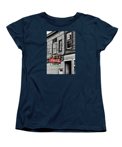 The Porthole Portland Maine Women's T-Shirt (Standard Cut) by Tom Prendergast
