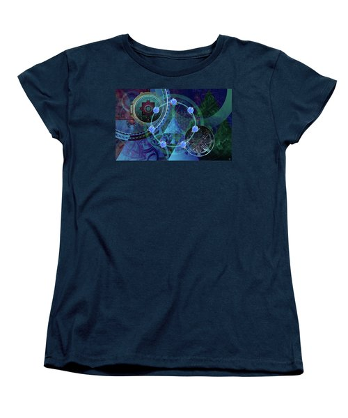 The Prism Of Time Women's T-Shirt (Standard Cut)