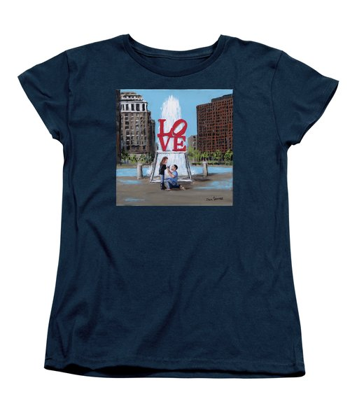 The Proposal Women's T-Shirt (Standard Cut) by Jack Skinner