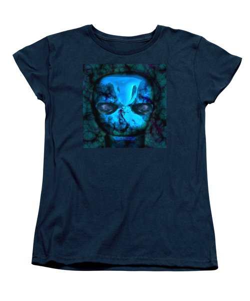 The Pukel Stone Face Women's T-Shirt (Standard Cut) by Mario Carini