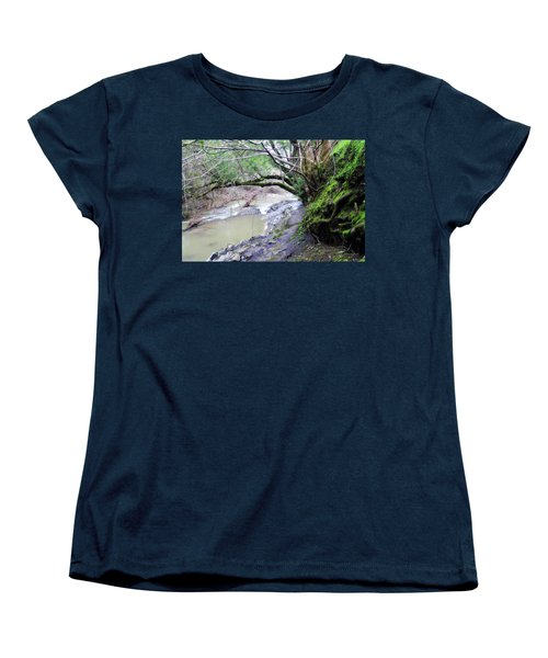 The Quiet Places Women's T-Shirt (Standard Cut) by Donna Blackhall