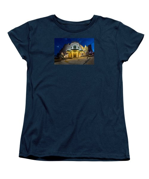 Women's T-Shirt (Standard Cut) featuring the photograph The Rialto Theater - Historic Landmark by Rob Green