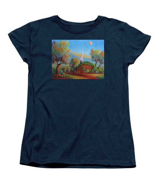 The Road Goes Ever On. Women's T-Shirt (Standard Cut) by Joe  Gilronan