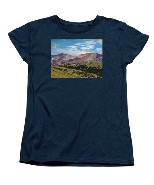 Women's T-Shirt (Standard Cut) featuring the photograph The Rockies by Bill Gallagher