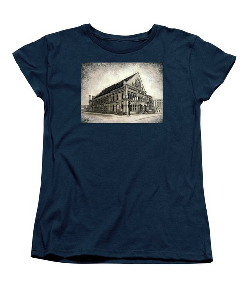 Women's T-Shirt (Standard Cut) featuring the painting The Ryman by Janet King