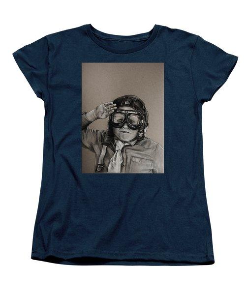 The Salute Women's T-Shirt (Standard Cut) by Jean Cormier
