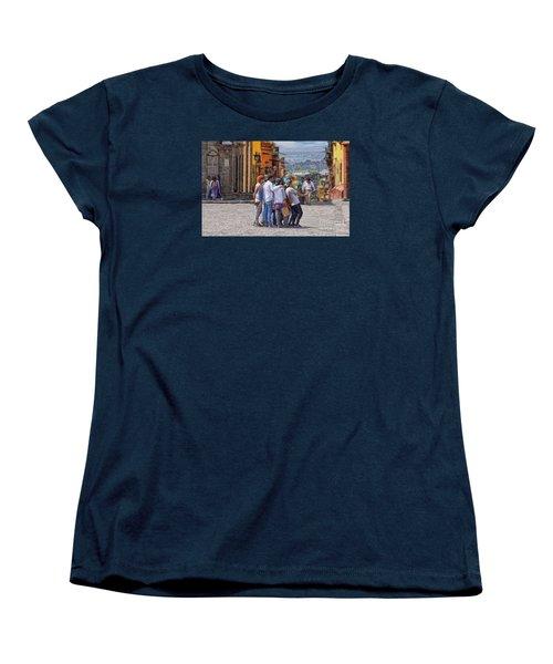 The San Miguel Selfie Women's T-Shirt (Standard Cut) by John  Kolenberg