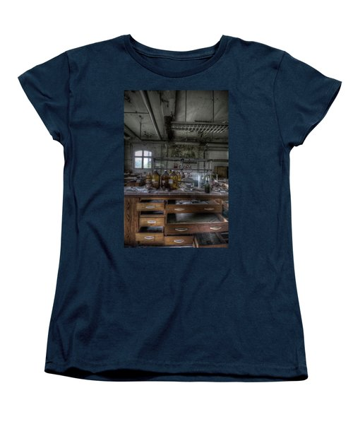 Women's T-Shirt (Standard Cut) featuring the digital art The Science  by Nathan Wright