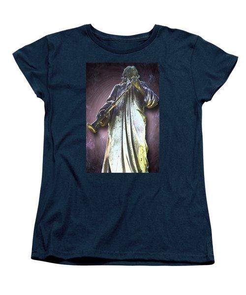 The Seventh Trumpet Women's T-Shirt (Standard Cut) by Lisa Brandel