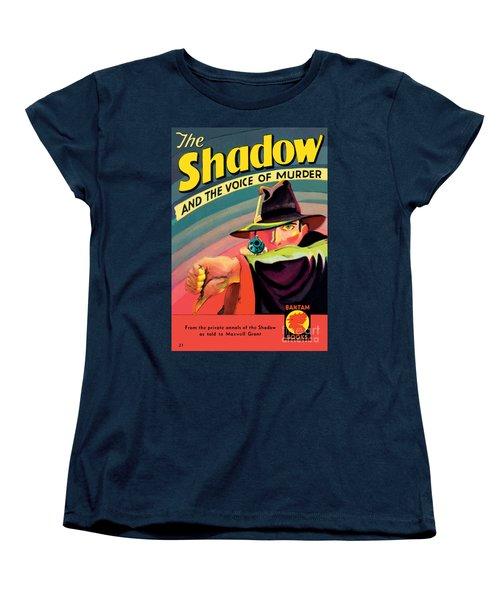 The Shadow Women's T-Shirt (Standard Cut) by George Rozen