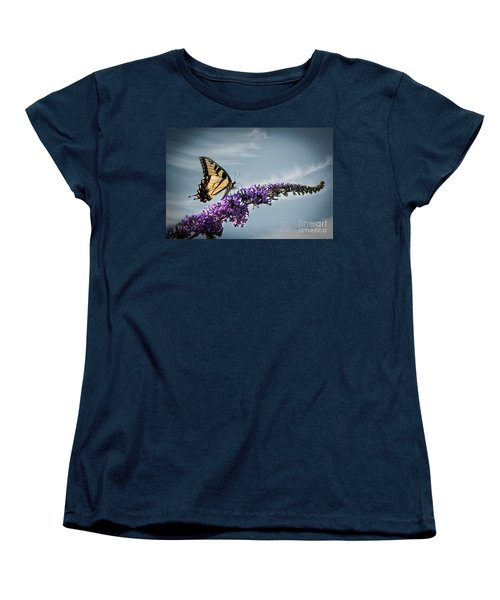 Women's T-Shirt (Standard Cut) featuring the photograph The Sky Is The Limit by Judy Wolinsky