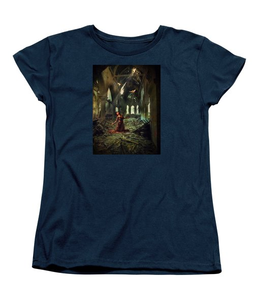 Women's T-Shirt (Standard Cut) featuring the photograph The Soul Cries Out by John Rivera