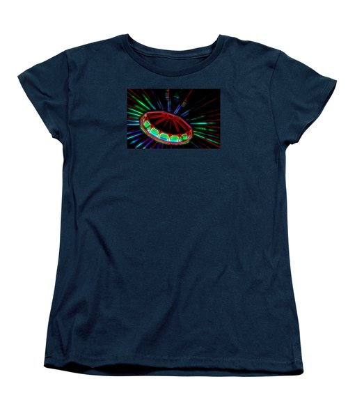 The Spaceship Women's T-Shirt (Standard Cut) by Bob Pardue