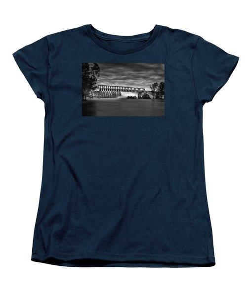 The Spill Women's T-Shirt (Standard Cut) by Mark Lucey