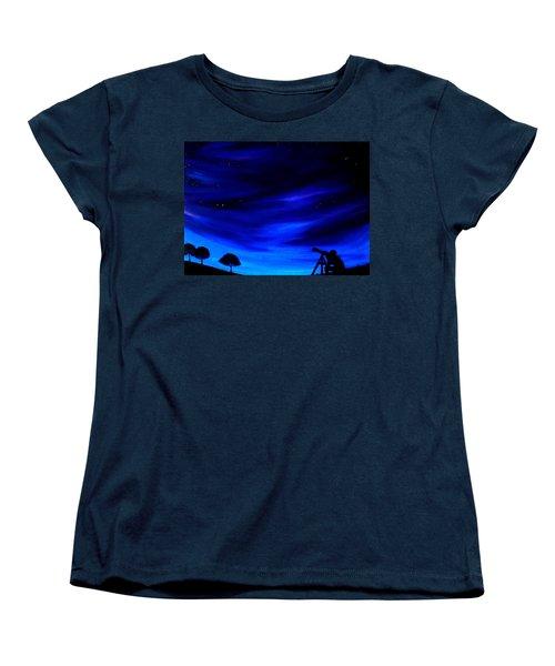 The Star Gazer Women's T-Shirt (Standard Cut)