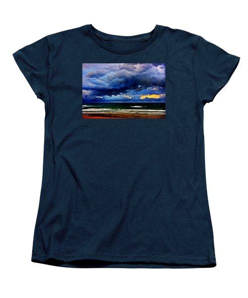 The Storm Roles In Women's T-Shirt (Standard Cut) by Blair Stuart