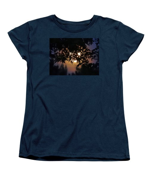 The Strawberry Moon Women's T-Shirt (Standard Cut) by Judy Johnson