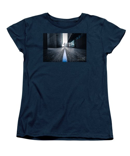 The Stream Of Time Women's T-Shirt (Standard Cut) by Giuseppe Torre