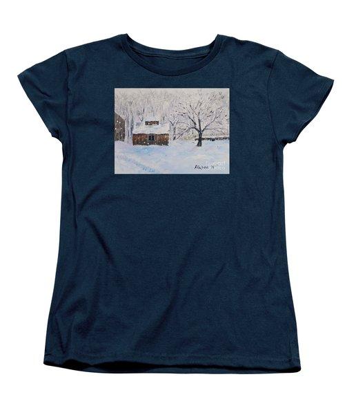 The Sugar House Women's T-Shirt (Standard Cut) by Stanton Allaben