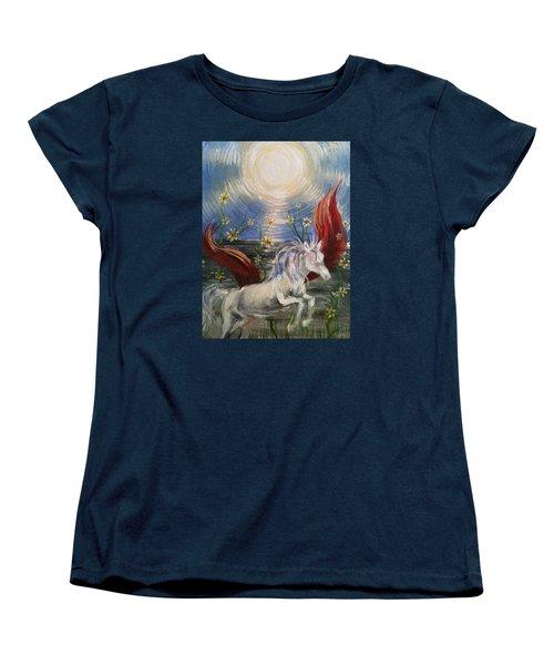 the Sun Women's T-Shirt (Standard Cut) by Karen  Ferrand Carroll