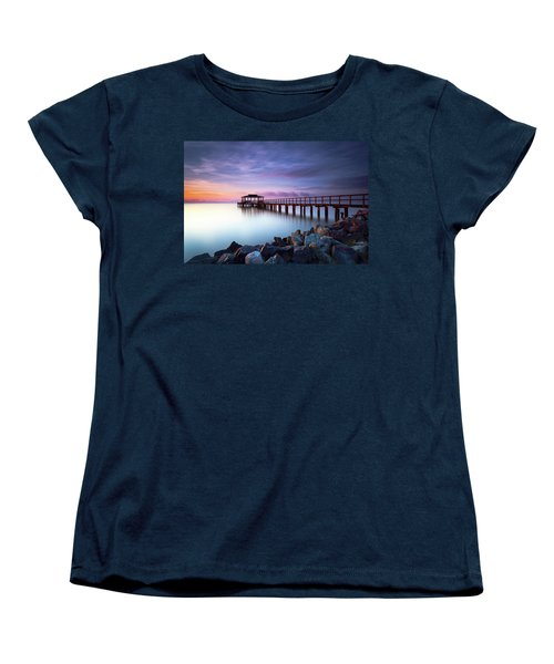 The Sun Watcher Women's T-Shirt (Standard Cut) by Edward Kreis