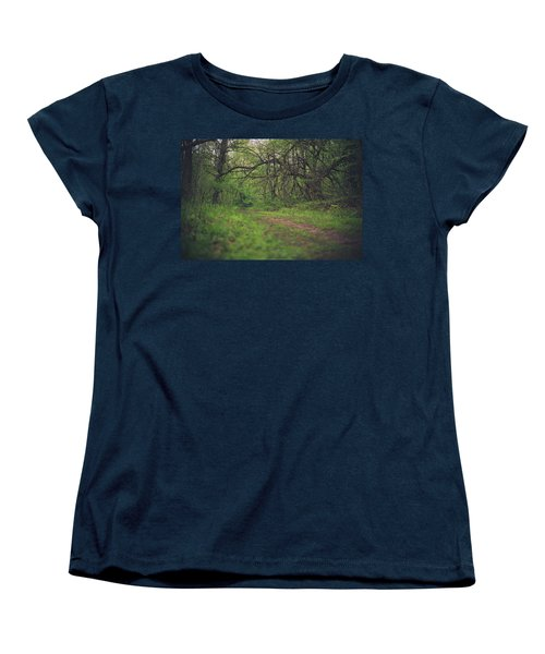 Women's T-Shirt (Standard Cut) featuring the photograph The Taking Tree by Shane Holsclaw