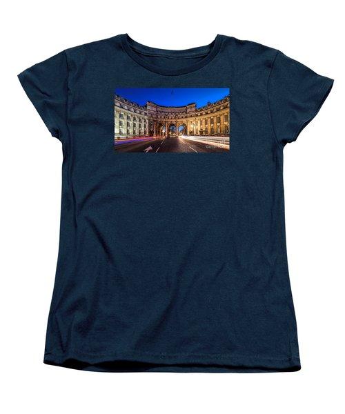 The Three Gates Women's T-Shirt (Standard Cut) by Giuseppe Torre