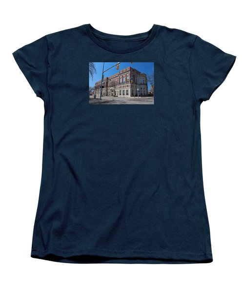 Women's T-Shirt (Standard Cut) featuring the photograph The Toledo Club by Michiale Schneider